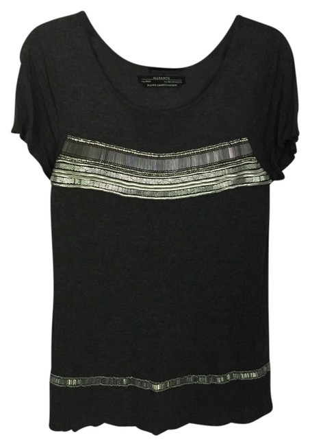 Preload https://item2.tradesy.com/images/allsaints-grey-tee-shirt-size-2-xs-3483046-0-0.jpg?width=400&height=650