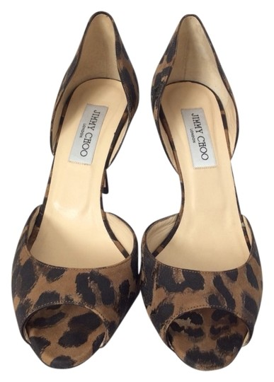 Jimmy Choo Animal Print Pumps