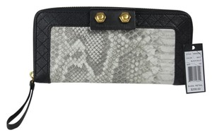 Marc by Marc Jacobs Leather Animal Print Black Mutli Clutch