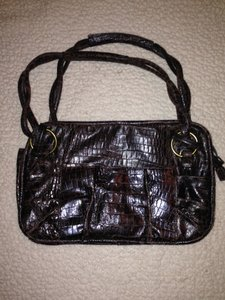 Donna Dixon Satchel in Deep Brown