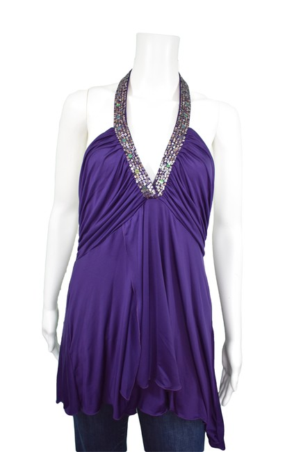 Preload https://item1.tradesy.com/images/to-the-max-purple-bcbg-tunic-dress-night-out-top-size-12-l-3484135-0-1.jpg?width=400&height=650