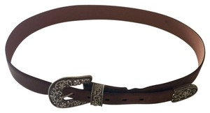 Ariat Ariat Leather And Crystal Buckle Weatern Belt
