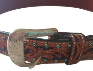 Ariat Ariat Western Tooled Leather Belt