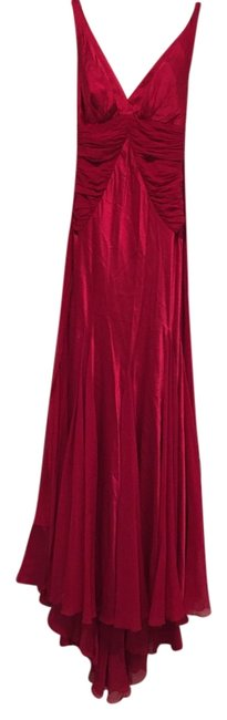 Dina Bar-El Silk Satin Dress