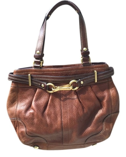 Preload https://item1.tradesy.com/images/coach-equestrian-brown-tote-3484585-0-0.jpg?width=440&height=440
