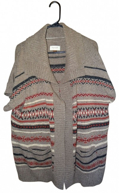 Sonoma Short Sleeve Sweater No Buttons Vest
