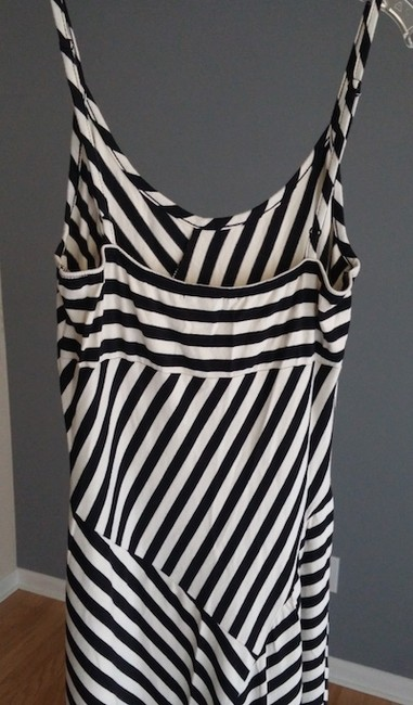Black and White Stripe Maxi Dress by Other Maxi Spaghetti
