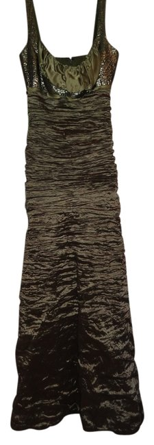 Item - Olive Green Collection Long Formal Dress Size 2 (XS)