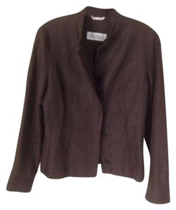 Max Mara Chocolate Brown Blazer