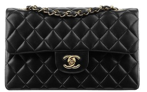 33d54e9c9b5b Added to Shopping Bag. Chanel Classic Double Flap Quilted Lambskin Leather  Gold Hardware Ghw 2.55 Small Medium A01113 Handbag Purse. Chanel 2.55  Reissue ...