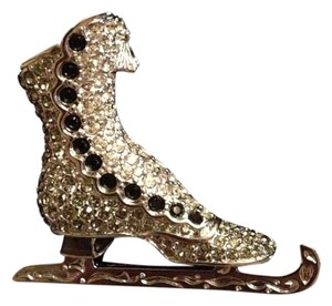 Swarovski Figure Skate Pin/Brooch