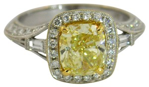 A Dazzling Canary Diamond Ring