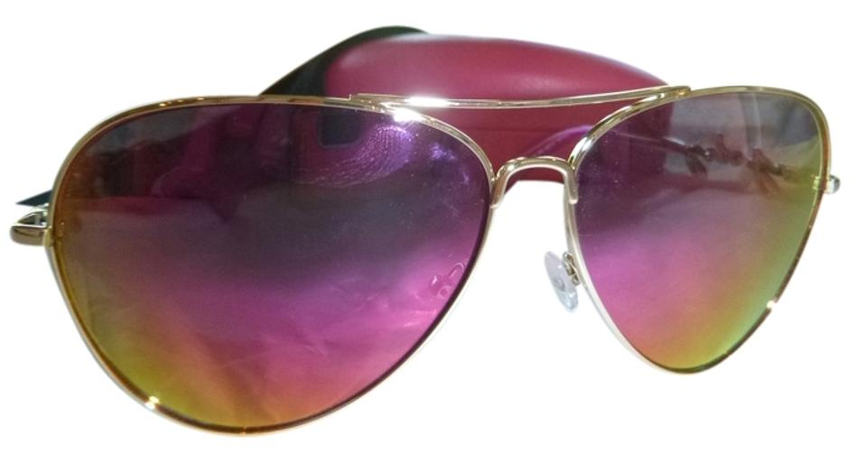9b2a4e13c6 Juicy Couture Juicy Couture Mirrored Aviator Sunglasses Image 0 ...