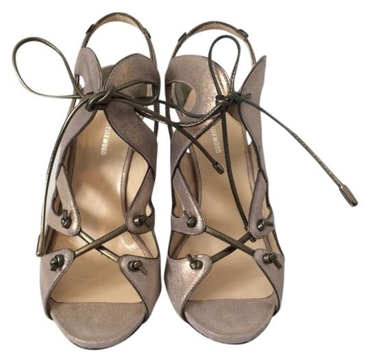 Nicholas Kirkwood Metallic Sandals