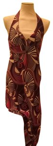 Burgundy Maxi Dress by Le Château