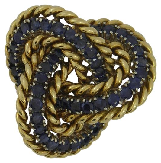 Preload https://img-static.tradesy.com/item/3486040/tiffany-and-co-yellow-and-blue-sapphire-gold-knot-brooch-0-0-540-540.jpg