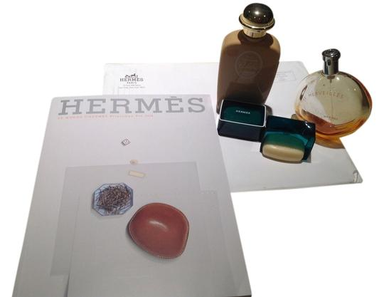 Preload https://item2.tradesy.com/images/hermes-perfume-2-soaps-and-catalogue-3486061-0-0.jpg?width=440&height=440