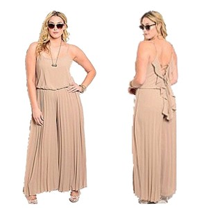 Jumpsuit Skirt Mocha