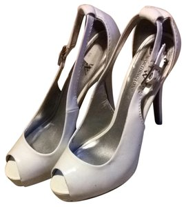 Worthington White Pumps