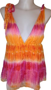 Alice + Olivia Top Pink & Orange