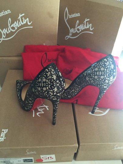 Christian Louboutin Patent Leather 7 Heels So Kate Black Pumps Image 3