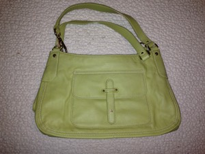 Liz Claiborne Satchel in Light Green