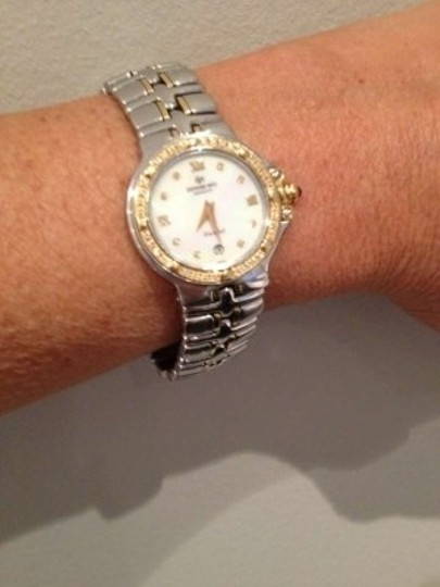 Raymond Weil Raymon Weil Parsifal Two-Tone Mother-Of-Pearl Diamond