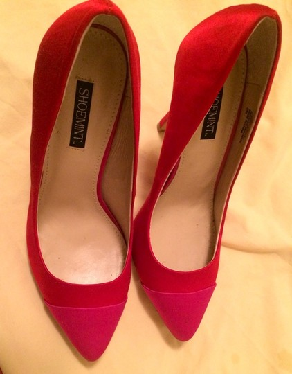 Shoemint Red/pink Pumps