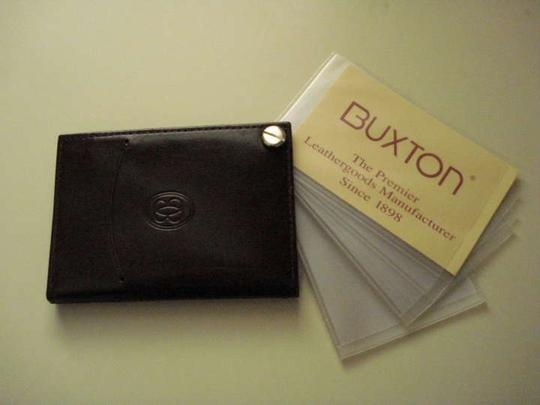 Buxton Buxton Leather Credit Card Wallet