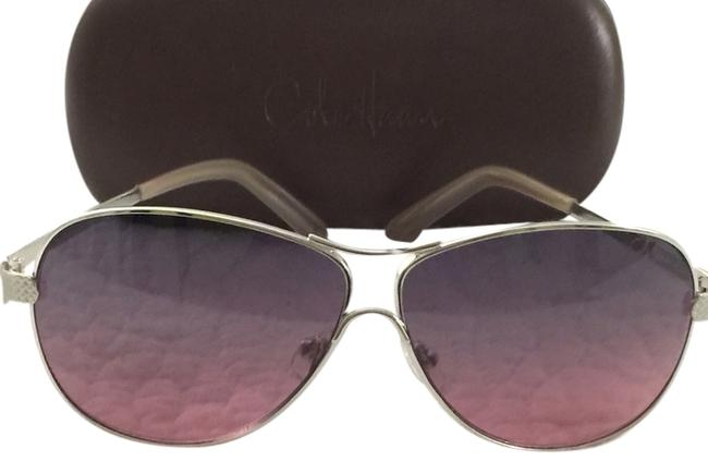 Item - Slight Purple Tint with Silver Metal Frame Sunglasses