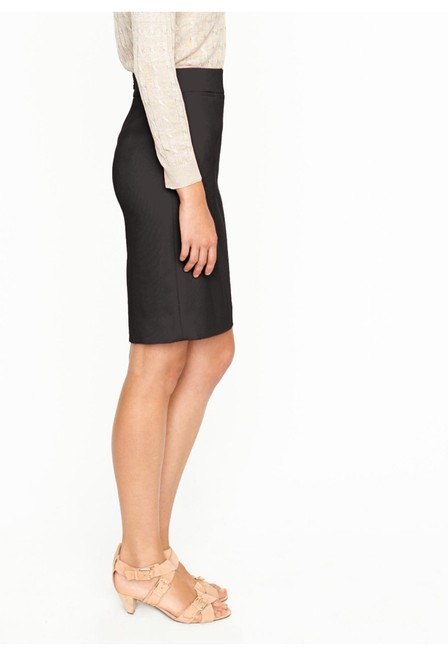 J.Crew Wool Pencil Skirt Black