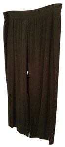 Soft Surroundings Wide Leg Pants Black