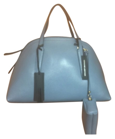 Preload https://item4.tradesy.com/images/gianni-chiarini-lilac-blue-leathersuede-satchel-3488578-0-3.jpg?width=440&height=440