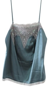 Moda International Top pale green/blue