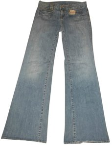 Lucky Brand Flare Leg Jeans-Distressed