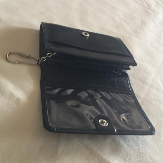 Fossil Vintage Fossil Black Leather Card Key ID Case