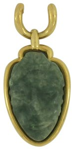 David Webb David Webb Jade and Gold Pendant