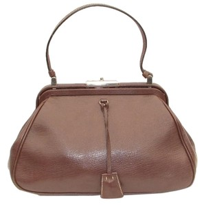 Prada Dust Included Satchel in brown