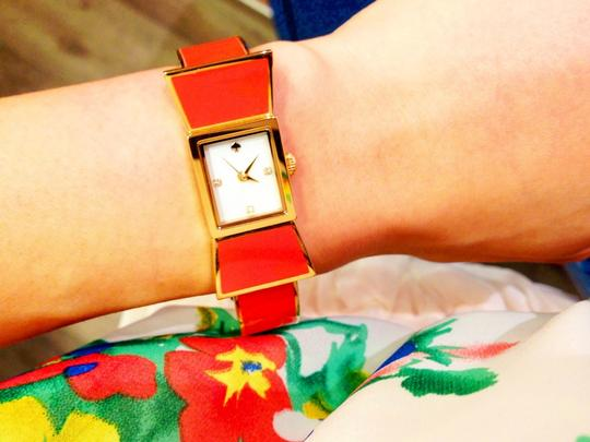 Kate Spade Kate Spade Red Carlyle Watch