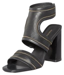 Rebecca Minkoff New Sandal Chuny Heel Black Sandals