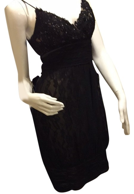 Preload https://img-static.tradesy.com/item/3489937/black-cocktail-dress-size-4-s-0-0-650-650.jpg