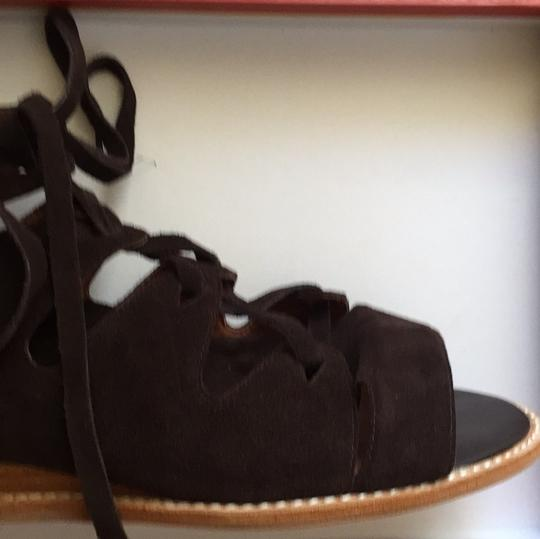 Jeffrey Campbell New Suede Brown Sandals