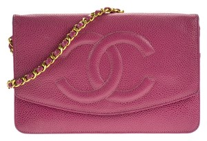 Chanel Vintage Wallet On Chain Woc Shoulder Bag