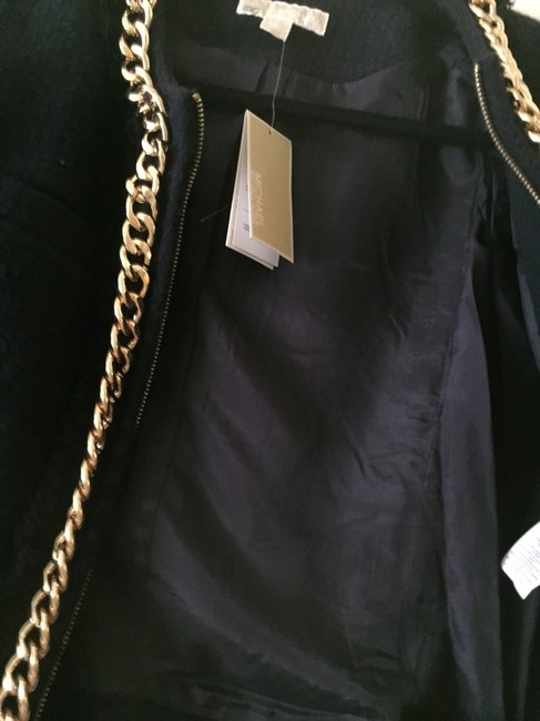 MICHAEL Michael Kors Navy /Gold Jacket