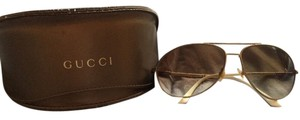 Gucci Authentic Gucci Aviator Concave or Rounded Made in Italy