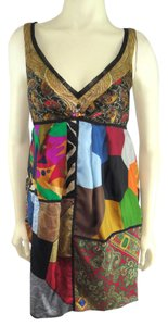 Burning Torch short dress Multi-Color on Tradesy
