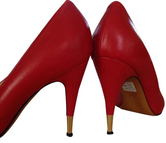 Nando Muzi Red Pumps