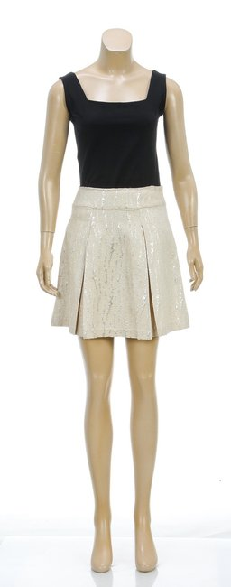 Cynthia Steffe Mini Skirt Tan