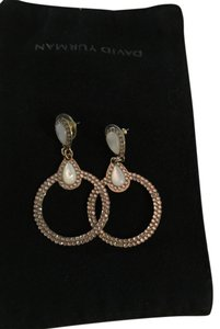 Jennifer Miller Jewelry Pave CZ earring with opal.