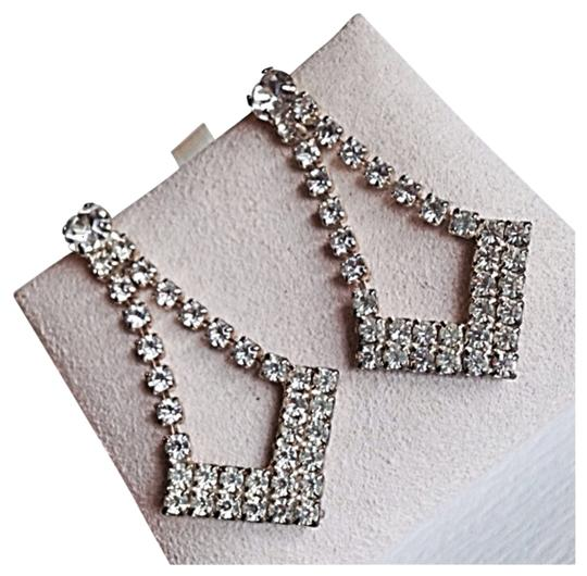 Other Rhinestone Diamond Dangle Earrings